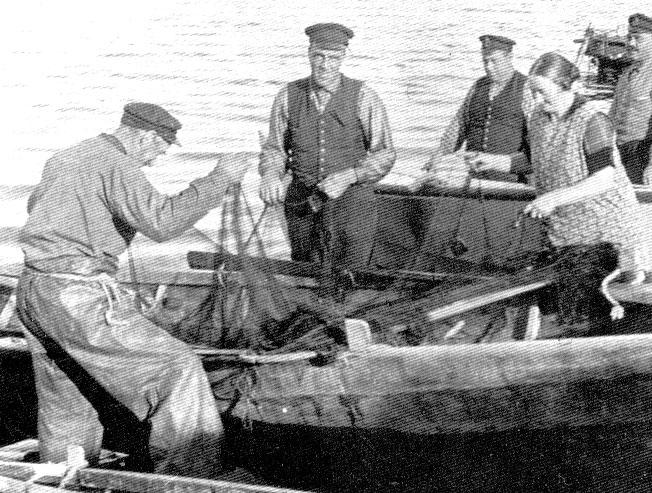 Fisket var livsviktigt för byns invånare