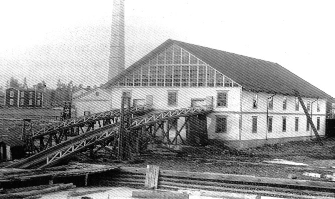Sågen efter renoveringen 1901