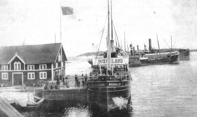 Furuögrunds hamn och hamnmagasin