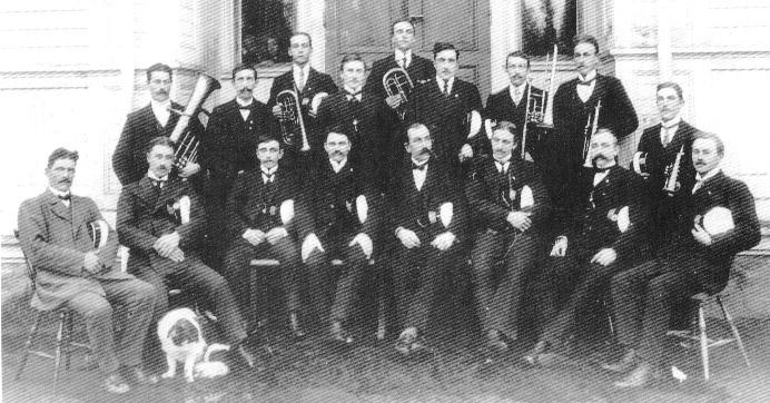 Furuögrunds Hornmusikkår omkr 1915